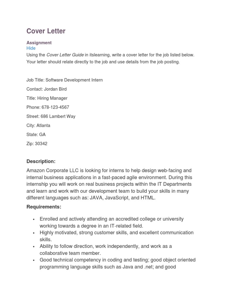 Dartmouth career cover letter example apa paper with headings