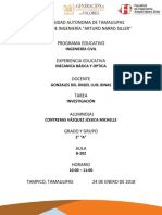 Mecanica Basica y Optica