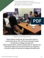 Educación Jóvenes y Adultos _ Observatorio de Educación Para La Innovación