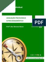 Amostra - Avaliacao Psicologica & Psicodiagnostico