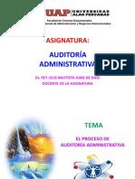 Plan y Programa de Auditoria