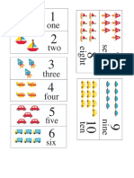 Flashcards Numbers
