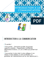 Introduction a La Communication
