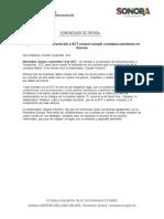 14-11-17 Urge Gobernadora Pavlovich a SCT a hacer cumplir contratos carreteros en Sonora. C-111757