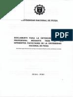 Reglmto Título Profesional _ UNP