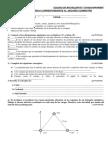 Examen de Física Correspondiente Al Quimestre 2