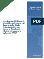 Acuerdo Intergubernamental FATCA - HND 31-03-14