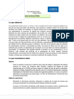 Pauta Análisis FODA Modulo 5