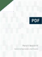 Parte II Seccion III Control de Exportacion y Certificacion Version 08.02.18