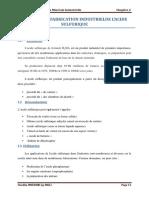 Chapitre II-Fabrication Industrielle de Acide Sulfurique