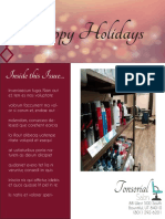 tonsorial parlor newsletter