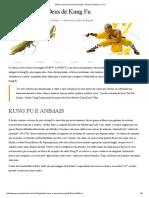 Estilo Louva-A-Deus de Kung Fu _ Câmara Shaolin 少林院