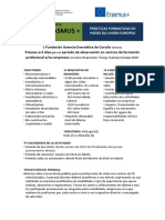 Convocatoria Profesorado 2018 ERASMUS