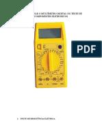 COMO UTILIZAR O MULTÍMETRO DIGITAL NO TESTE DE COMPONENTES ELETRÔNICOS.pdf