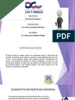 Expo Derecho de Amparo (Partes)