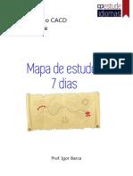Francês - Mapa de Estudo