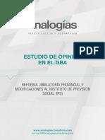 Estudio de Analogías sobre la Reforma del IPS