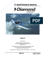 Aircraft Maintenance Manual Diamond Da201-c1-Rev-22