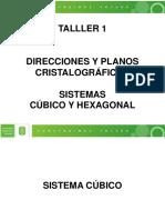 Taller 1 Índices de Miller Cúbico y Hexagonal 2017 II (2)