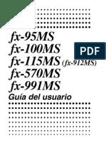 Fx115MS 991MS Spanish