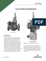 EZR Pressure Reducing Regulator Bulletin en 123624