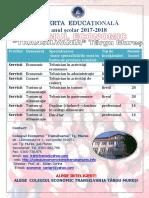 Oferta Educationala 2017 2018