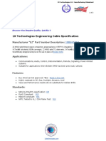 Belden 8450 Cable Equivalent - 1XB8450EQ - 1X Technologies Engineering Cable Specification English PDF Datasheet