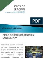 1.4 Ciclo de Refrigeracion de Doble Etapa y Cascada