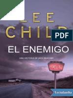 8 El Enemigo - Lee Child