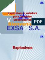 Explosivos y Voladura Para Doc Univ 2005