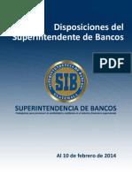 Disposiciones Del Superintendente de Bancos (1)