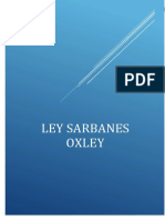 Ley Sarbanes Oxley