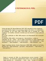 Tectonismo Peru