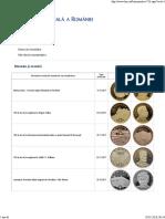 Catalogul Monedelor Comemorative Emise de România 1995-2017 BNR