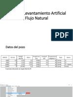 Taller de Levantamiento Artificial -Flujo Natural