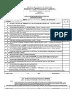 Planilla de Registro de Documentos Pregrado 2018