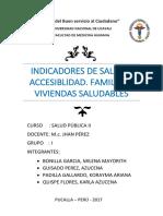 Indicadores de Salud y Accesibilidad Exposicón