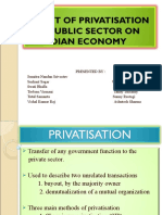 Impact of Privatisation Final
