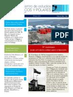 Newsletter 6  del Centro de Estudios Hemisféricos y Polares