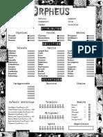Orpheus4 Page Editable