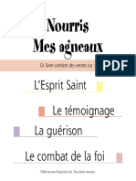 Nourris Mes Agneaux - L'Esprit Saint, Le Témoignage, La Guérison Et Le Combat de La Foi