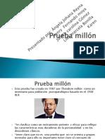 Prueba Millón