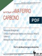Aula05 - Diagrama de Fases Ferro Carbono