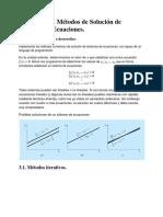 Metodos Numericos. Unidad III
