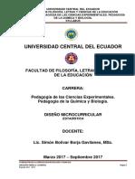 Syllabus Estadistica (Pedagogía) 2017 - 2017 Listo