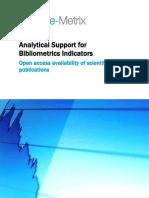 Science-metrix Open Access Availability Scientific Publications Report
