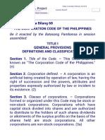 Corpo Code Bp68