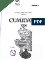 Sirbu v. , Rustoiu a. - Practici Funerare La Geto-dacii Din Sec II, Cumidava, XXV, 2005