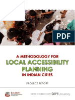A Methodology for Local Accessibility Planning in Indian Cities_Mahadevia Et Al