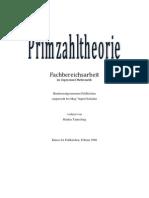 Primzahltheorie